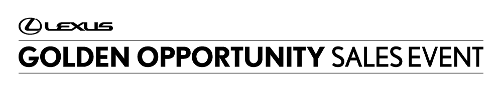 Lexus sales event